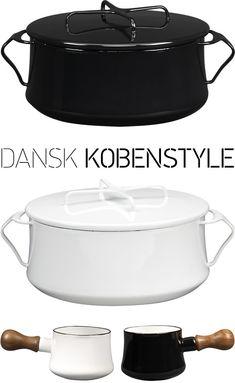 Dansk Kobenstyle dansk kobenstyl, 4quart casserol, barrels, kobenstyl red, kobenstyl black, black 4quart, black white, kitchen, crates