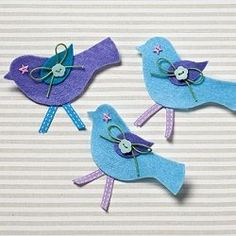 Felt Bird Crafts