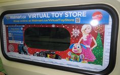 Mattel and Walmart are ramping up a QR code-driven virtual toy store program first introduced last year with more locations around Canada to help commuters shop for gifts this holiday season.  The virtual toy stores are located in Montreal, Vancouver, Toronto and on trains. The stores will run for four weeks, enabling commuters to purchase some of the season's most popular toy gifts by scanning a QR code with their smartphones.