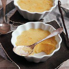 Vanilla Bean Baked Custard Recipe