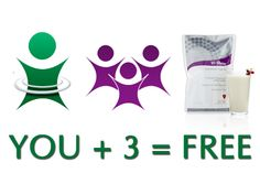 there is a visalus 3 for free program to get free product every month!