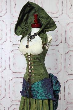 detachable hood on a Vixen corset. I love Damsel in this Dress! WANT!