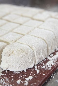 Step by step - how to make homemade marshmallows - from MaryJanesFarm