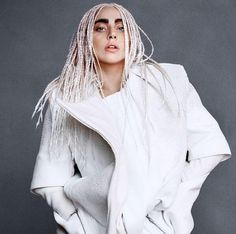 There Is Something Very Special About Lady Gagas Harpers Bazaar Coat | Cambio