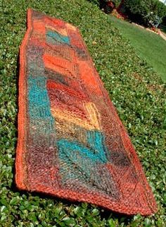 Free Pattern: Rustic Squares by Kathy Patterson