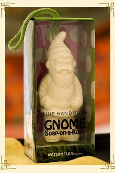 Gnome Soap on a rope!