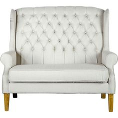 Love this Janna Loveseat from the Regency Studios event at Joss and Main!