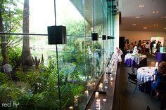 Wedding reception at the Flint RiverQuarium in Albany, GA.