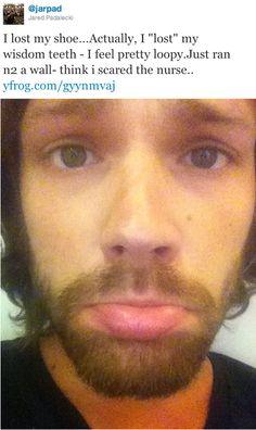 Poor Jared.