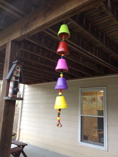 CHIMES: Flower pots