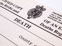 ~Tips for Finding Your Ancestor's Death Record~