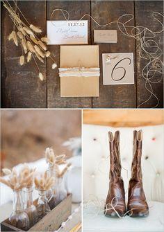 rustic wedding budget;)
