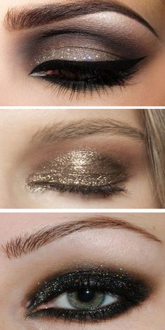 #sparkles and #glitter eye shadow