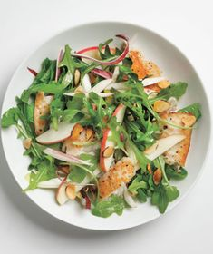 Tilapia Salad With Apples and Almonds