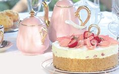 """click on """"High Tea"""" button and you get a printable 13 Page PDF of gorgeous ideas and recipes"""