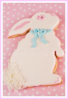 Easter Bunny cookies - How to make