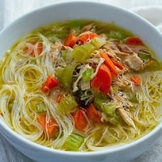 Gluten-Free Chicken Noodle Soup Recipe