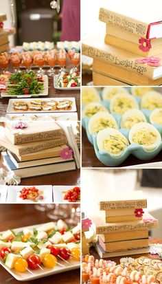 Beautiful Book Themed party