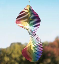 rainbow wind, wind sculptur