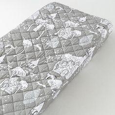 chang pad, changer pad, crib, pad cover, kid rooms, nurseri, grey, babi, prints