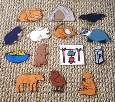 lots of cool ideas for felt board stories