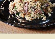 couscous salad, lamb salad, leftov lamb