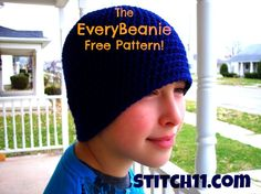 Free Crochet Pattern The EveryBeanie