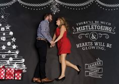 #christmas cards #photgraphy Samara and Bobby Christmas Card 2013 Katie Bean deSouza - Art Director • Photography