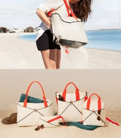 Shake Beach Bags // what a great product. I want one!