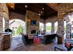 Gorgeous custom English style home on desirable corner lot in gated community. Expansive floor plan with six bedrooms,four living areas, bonus rooms,wine porch,outdoor pavilion,seven fireplace,fabulous pool/spa. Separate pool house perfect for game room-relaxation. Cushioned turf yard play area. Ground level trampoline,putting-chipping green. Gourmet kitchen a chef's dream. #zillow