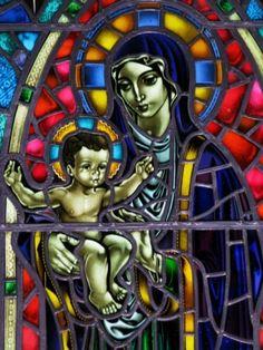Madonna in Reykjavik cathedral
