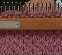 Loom Knitting The Criss Cross Stitch ♥LLKT♥ video