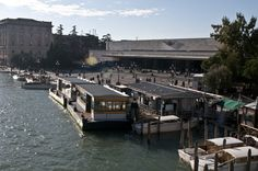 The train station Venice Santa Lucia is located right in the city center, next to the grand canal