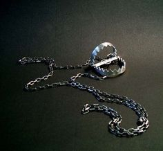 What lovely lady wouldn't enjoy this Bear trap necklace?