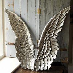 wall decor, idea, angel wings, stuff, art, inspir, hous, angels, thing