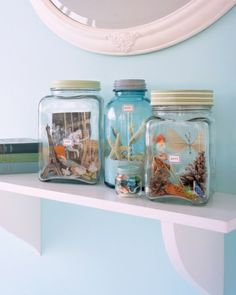 Vacation Memory Jars and more at MarthaStewart.com