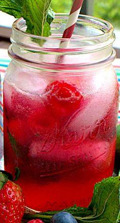 Triple Berry Mojitos Recipe