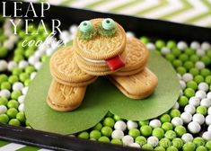 leap day cookies