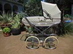 Baby pram.  My dream carriage.