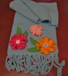 Scrappin' Becky B.: Giveaway!! Whimsical Fleece Scarf...