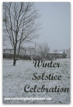 Winter Solstice Celebration for your family