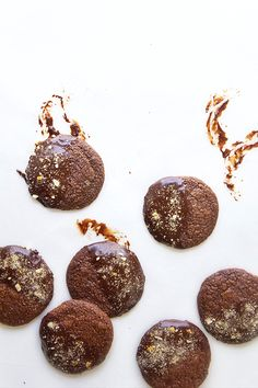 Ultimate Chocolate-Dipped Cookies