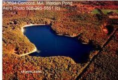 Walden Pond, Concord, Massachusetts - about 13 miles from where I grew up in Framingham, Massachusetts.