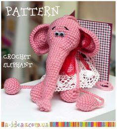 Crochet elephant pattern - free