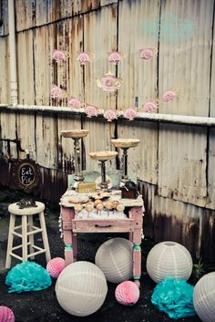 vintage tea party theme #teaparty #desserttable #heatherlynnphotographie