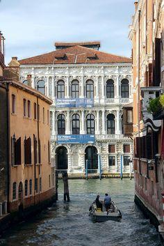 Palazzo Pesaro, Venice, Italy