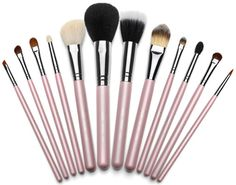 Keeping your Makeup Brushes Clean!!! -- Banish grime and germs with this combo: Swirl brushes in a mix of 1 c warm water. 1/2 t tea tree oil and a dollop of baby shampoo. Rinse and let air dry for soft brushes that will be free of residue!