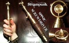 K-9 And The Sonic Screwdriver Go Steampunk