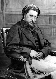 Ford Madox Brown (1821-1893) ca.1860. A pre-Raphaelite painter and early member of The Artists Rifles.