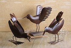 Cast iron crows